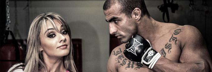 Campanha Para O Fight Masters Combat Com Juju Salimeni